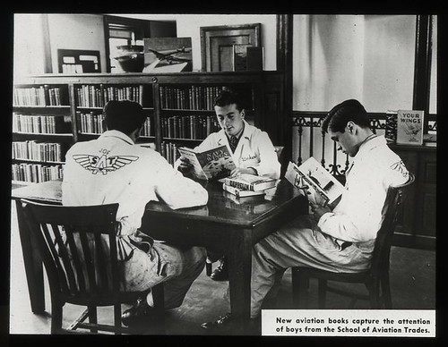 Work with schools, 67th Street Branch : boys from the School...