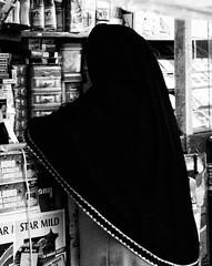Possess (ROSS HONG KONG) Tags: woman indonesia stall jakarta shopkeeper goldenmix