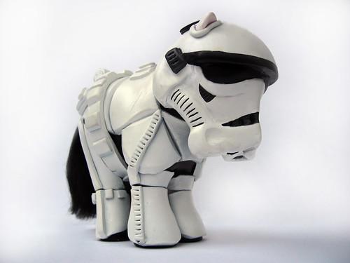 My little pony Stormtrooper