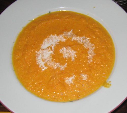 velouté de carottes au miel