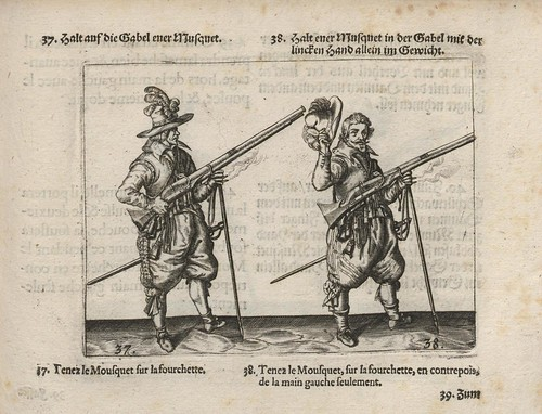 soldiers in 17th cent. with rifles