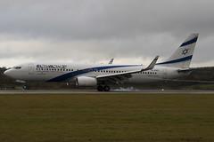 4X-EKO - 30287 - El Al Israel Airlines - Boeing - 737-86Q - Luton - 091105 - Steven Gray - IMG_3614