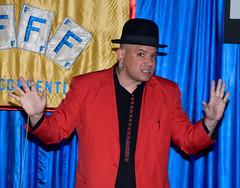 Willy Monroe (Saomik) Tags: 2011 april batavia newyork usa magic ffff fechters magician