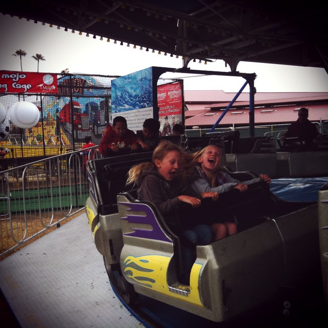 Caelan & Emma having a blast - Instagram II