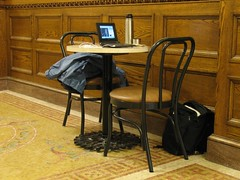EEEPC in use in the Milwaukee Public Library
