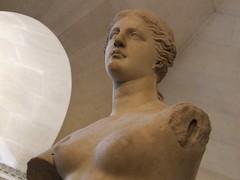 venus de milo 2 (byronv2) Tags: sculpture woman paris france art classic museum naked nude gallery louvre armless venusdemilo march2008