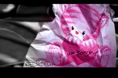 ... (Weda3eah*) Tags: pink sorry by am heart weda3eah articulateimages