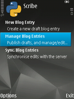 wordpress symbian