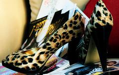 No pain.. No gain (Julie™) Tags: high glamour julie vogue heel stiletto stevemadden teenvogue orangeya