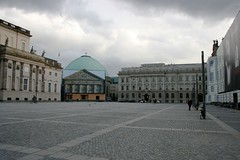 Bebelplatz (KCA) Tags: city urban berlin church architecture buildings germany square opera library staatsoper bebelplatz sthedwigs opernplatz altebibliothek underdenlinden