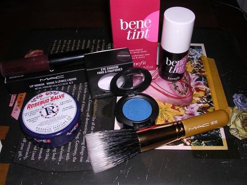 March 2008 make-up purchases