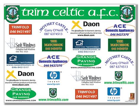 Golf Classic Main Sponsors