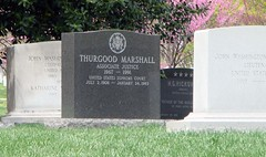 Thurgood Marshall headstone.... (JuanJ) Tags: new travel family wedding friends party vacation favorite usa black beach me stone arlington america photoshop court army virginia photo justice interestingness amazing friend marine flickr force unitedstates cs2 head african military air headstone navy picture marshall explore civil national photograph american rights africanamerican marines fav airforce monuments 2008 favs lawyer armedforces arlingtoncemetery thurgoodmarshall surpreme
