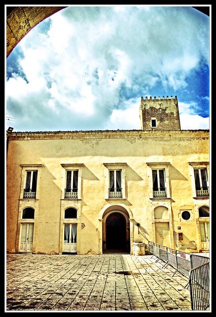 Ingresso del Castello di Donnafugata