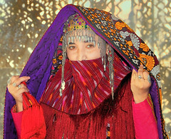 Turkmen Bride, Ashgabat, Turkmenistan, May 13, 2008 (Ivan S. Abrams) Tags: wedding arizona digital nikon asia ivan getty weddingdres