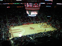 Houston Rockets Basketball Court