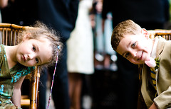 children at a wedding (smoothdude) Tags: wedding portrait kids weddings d300 weddingphotographer weddingphotography 85mmf14 wwwdanielkriegercom newyorkcityweddingphotographer nikond300