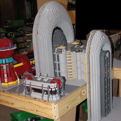Futurama Lego apartamentos robots