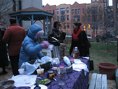 Solstice Tea Party and Canned Food Drive 2007_4