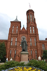 Smithsonian Institution Building (The Castle) (Steve W Lee) Tags: sculpture building tower castle statue museum facade washingtondc smithsonian washington districtofcolumbia steeple nationalmall buildingfront smithsonianinstitution thecastle smithsoniancastle smithsonianmuseum buildingentrance jamesrenwickjr josephhenry smithsonianinstitutionbuilding administrativeoffice josephhenrystatue smithsonianentrance