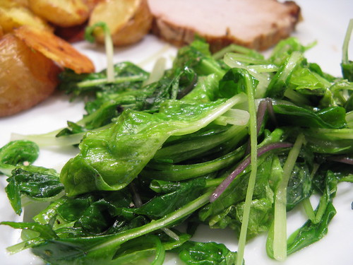Beautiful Sautéed Spring Greens