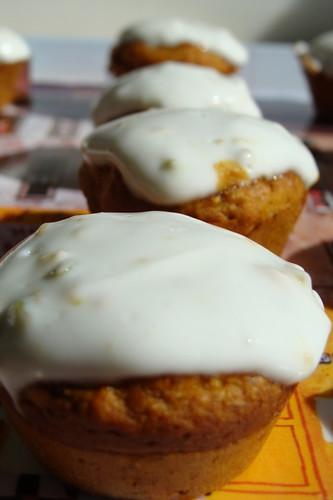 Persimmon Cupcakes