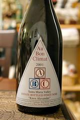 2001 Au Bon Climat Knox Alexander Pinot Noir