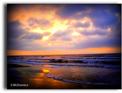 Good Morning, Myrtle  II.... (Foto-4-Life) Tags: ocean sky beach nature sunrise landscape gorgeouscolors reflectedcolors passionphotography mywinners dramaticcolor colorphotoaward everydayissunday sicandfriends