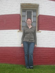 Me at West Quoddy Head (Silver Starre) Tags: trip travel vacation usa lighthouse me window june coast maine east 2008 mainecoast lubec westquoddyhead quoddy easternmost lubecmaine june2008 trip2008june easternmostpointintheusa
