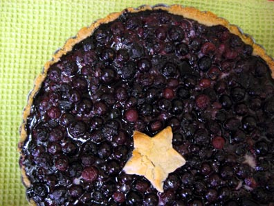 Blueberry Pie-Tart