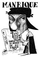 MANRIQUE, Jorge (Morales de los Ros) Tags: writers caricaturas philosophers caricatures escritores filsofos