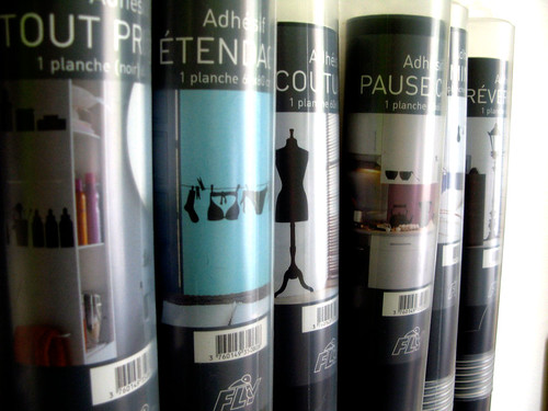 Stickers en tubes
