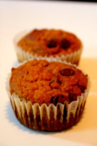 Cupcake Punk: Chocolate Chip Carrot Sunrise Muffins