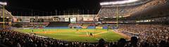 Yankee Panorama (ouphotoguy) Tags: newyorkcity baseball stadium bronx yankeestadium newyorkyankees mlb americanleague bronxbombers thehousethatruthbuilt