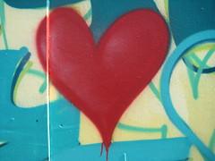 have a heart (gitamalhotra) Tags: bristol heart harbourside freshwetgraffiti