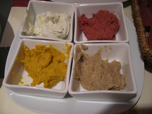 Patés vegetarians