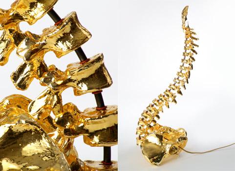 backbone lamp