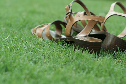 lazy sunday: sandals