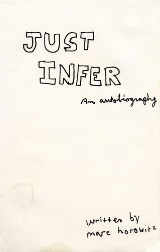 twitter drawing #1 - just infer - an autobiography
