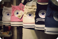 Converse in a row. . . (jami_lee) Tags: rock star store sneakers converse allstars myfavoritethings