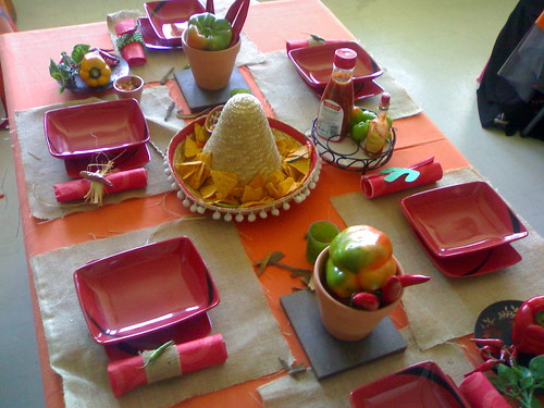 ole! mexican table setting · hot and spicy : mexican table setting - pezcame.com