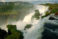 Iguazu  Falls  #2 (keithhull (offline this weekend)) Tags: brazil argentina 510fav waterfall force power falls spray rainbows iguazu naturesfinest aplusphoto citrit betterthangood theperfectphotographer goldstaraward natureselegantshots absolutelystunningscapes