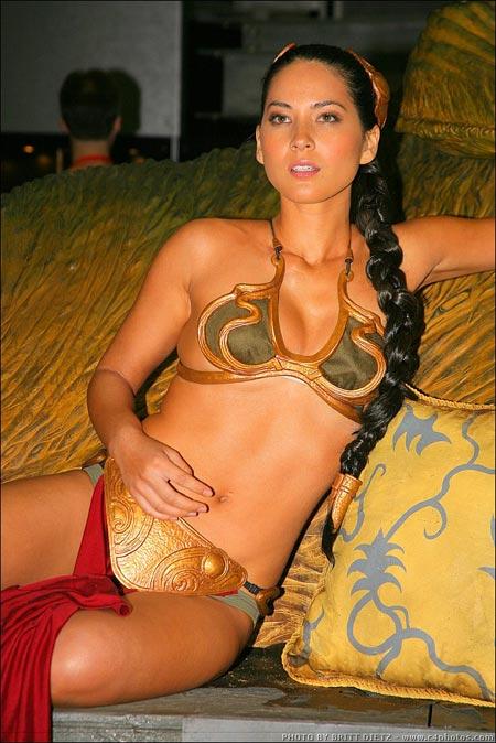 With you princess leia bikini models seems