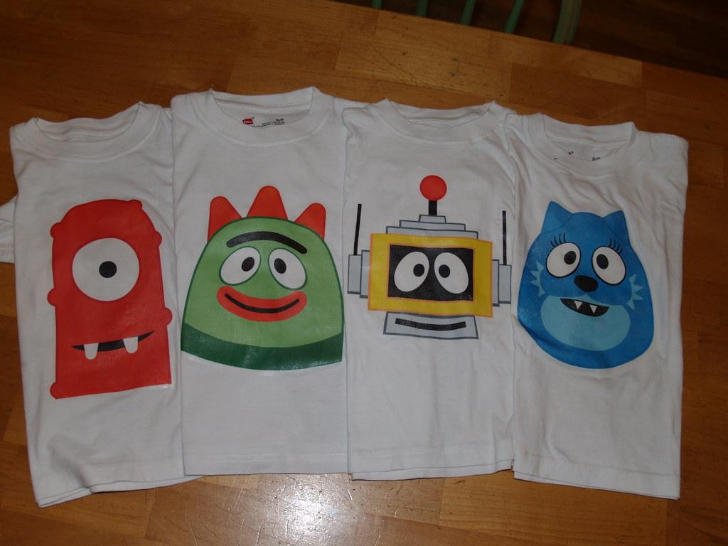 Yo Gabba Gabba t-shirts!