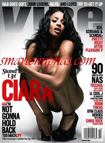 ciara nude vibe magazine cover