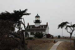 Point Pinos Lighthouse (cmh2315fl) Tags: california lighthouse fog pacificgrove pointpinos californialighthouse nationalregisterofhistoricplaces historiclighthouse nrhp