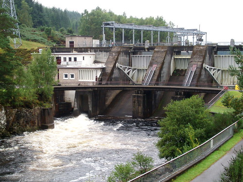 Hydro Electric Dam, River Moriston