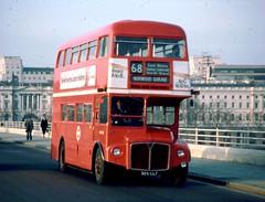 136-18 (Sou'wester) Tags: bus london heritage buses icon waterloo routemaster publictransport lrt lt psv rm londontransport tfl aec rml route68 rm1326 326clt
