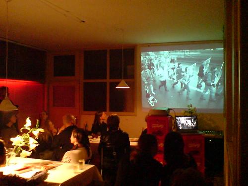 Vortrag Martin Schmitz bei Atelierfrankfurt zur Spaziergangswissenschaft. Oktober 2006