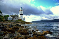 Showing some light ! (Nicolas Valentin) Tags: sea water weather scotland fishing scenery nicolas lighhouse gourock ecosse clochlighthouse